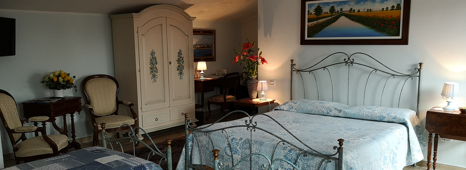 You can find<br> refined and <br> comfortable <br> rooms <br>very close <br> to Pavia
